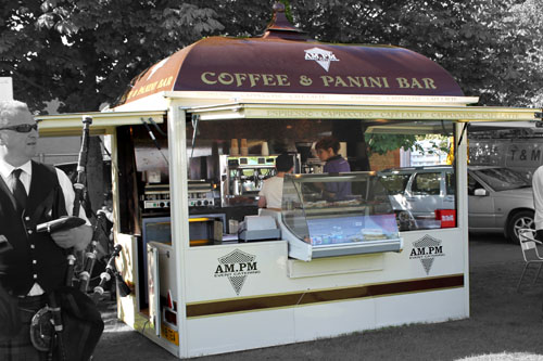 Mobile Panini Bar, Mobile Snack Bar & Event Catering Scotland